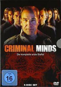 Criminal-Minds-Die-komplette-erste-Staffel-6-DVDs-von-DVD-Zustand-gut