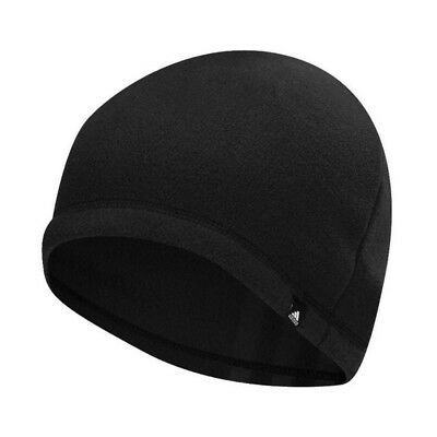 226f3daf790 NEW Men s Adidas Golf 3 Stripe Fleece Beanie Winter Hat Cap Black