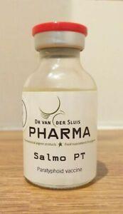 Salmo PT SALMONELLA & Paratyphoid injection 40Dose for Pigeons Birds Super stuff