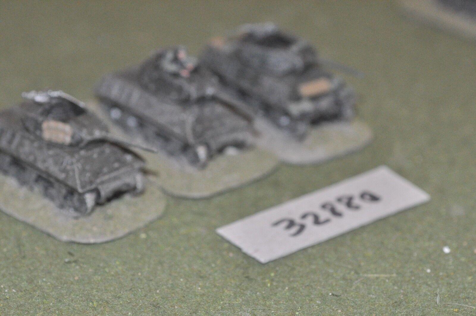 15mm WW2   allied - 3 tanks - vehicles (32880)