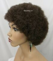 Color Choice Quality Short Afro Wig Unisex Wig .. Hot Item