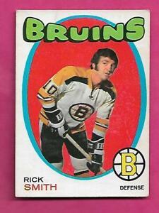 1971-72-OPC-174-BRUINS-RICK-SMITH-EX-CARD-INV-C1748