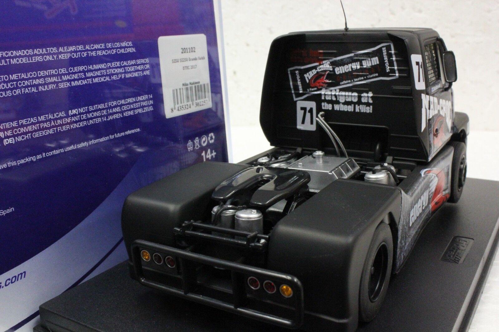FLY 201102 SISU SI 250 BRANDS HATCH BTRC 2017 NEW 1//32 SLOT CAR IN DISPLAY CASE