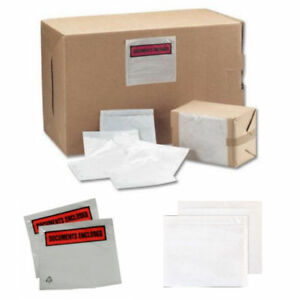 Details about 100 x A6 Plain Document Address Wallets Labels 158x110mm Self  Adhesive Sticky