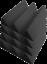 Pro-Pack-Plus-Acoustic-Foam-96pcs-Purple-Grey-wedge12X12x4-034-Soundproof-tiles thumbnail 4