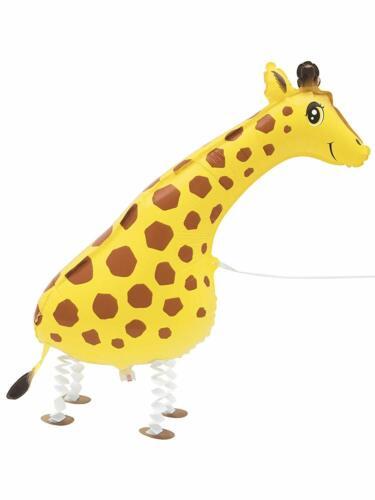Girafe Walking Pet-ballon d/'hélium Air fête décoration Airwalker flottant