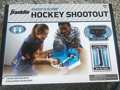 NEW Franklin Sports Shoot N Score Hockey Shootout Game FREE2DAYSHIP TAXFREE