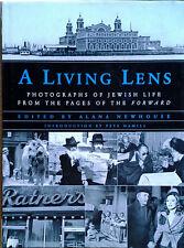 LIVING LENS / PHOTOGRAPHS OF JEWISH LIFE - ALANA NEWHOUSE - HB, DJ, 1P