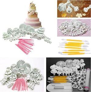 8-33-46-47pcs-Sugarcraft-Cake-Decorating-Fondant-Icing-Plunger-Tool-Mold-Mould-S
