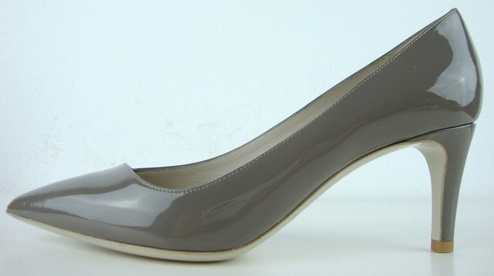 GIORGIO ARMANI Pumps Pfennigabsatz Damen Schuhe Leder LackEffekt Pfennigabsatz Pumps Gr.36 NEU 0b183c