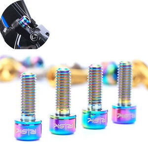 Bicycle Screws M6*18//20mm Disc Brakes Calipers Bolts With Washers For MTB Bike