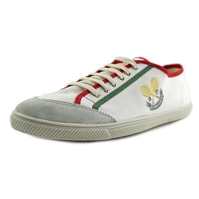 Herman Monster Gabardina Men US 10 White Sneakers