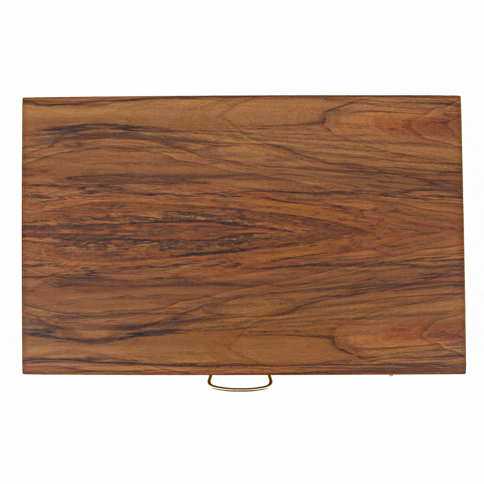 Backgammon Deluxe Conjunto de Juego-Hecho a Mano Madera De Nogal-medio