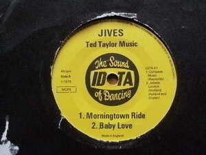 JIVES-gt-MORNINGTOWN-RIDE-gt-4-TRACKS-1975-lt-45RPM-7ins-VINYL-RECORD-JUKEBOX-SINGLE