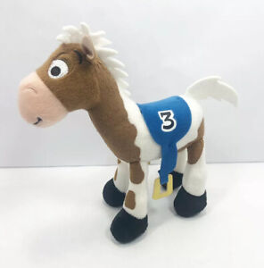 Disney Parks Toy Story Bullseye Race Horse #3 Plush Woodys Horse Stuffed Animal
