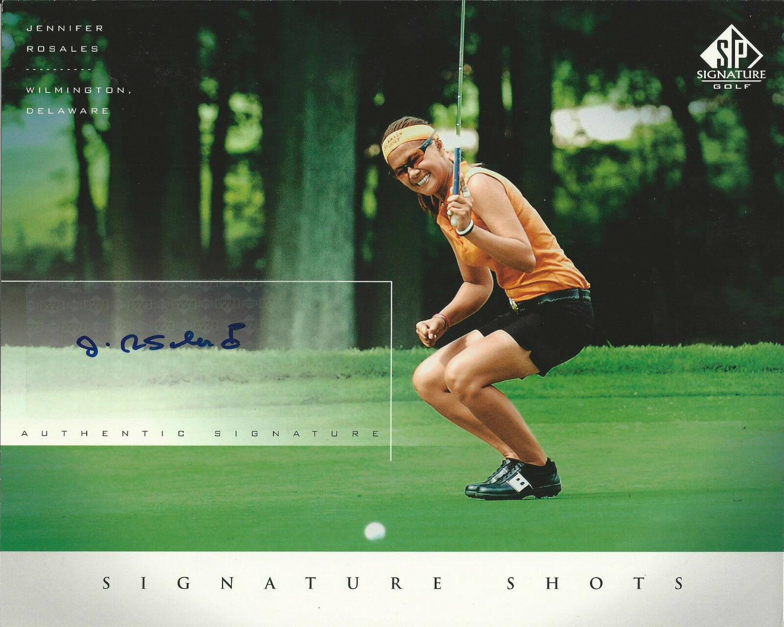 Jennifer Rosales Signed SP Signature Shots 8x10 Photo