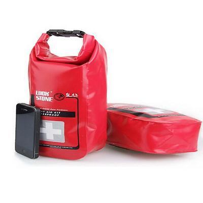 Waterproof Emergency First Aid Kit Bag Travel Dry Bag Rafting Camping Kayaking T