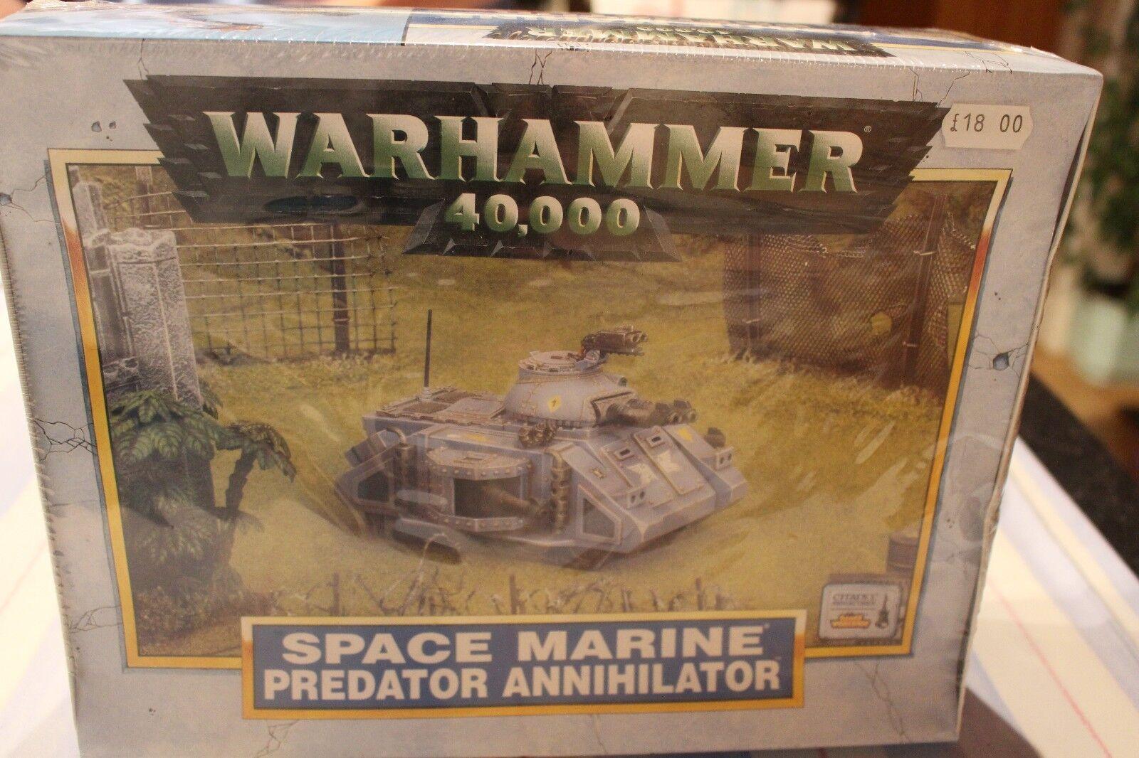 Games Workshop Warhammer 40k Space Marines Predator Annihilator Tank RogueTrader