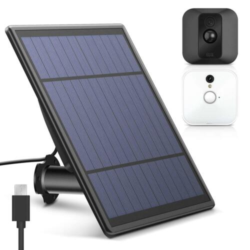 Solar-Panel-For-Blink-XT-XT-2-Security-Camera-Wall-Mount-Outdoor-For-Blink-XT