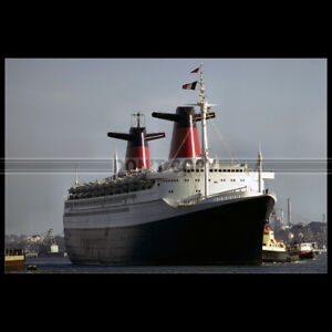 Photo B.002922 SS FRANCE CGT FRENCH LINE NEW-YORK PAQUEBOT OCEAN LINER