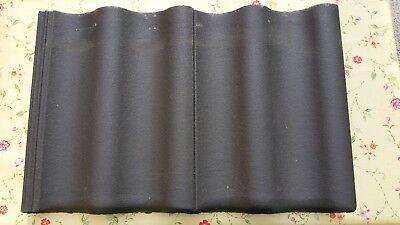 Heimwerker Angemessen Braas Harzer Pfanne Neu,10 Stück,anthrazit Zweiwellig 36,5x46,5 Cm üBereinstimmung In Farbe Baustoffe & Holz