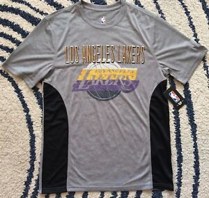 finest selection e3da7 44f7c Details about NEW NBA LeBron James Los Angeles Lakers T-Shirt Grey Size  Small Medium Large