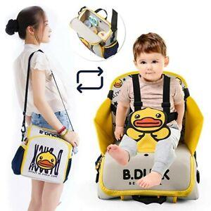 Bottle Backpack 2 in 1 Portable Traveling Dining Chair Bag-Diaper Bag