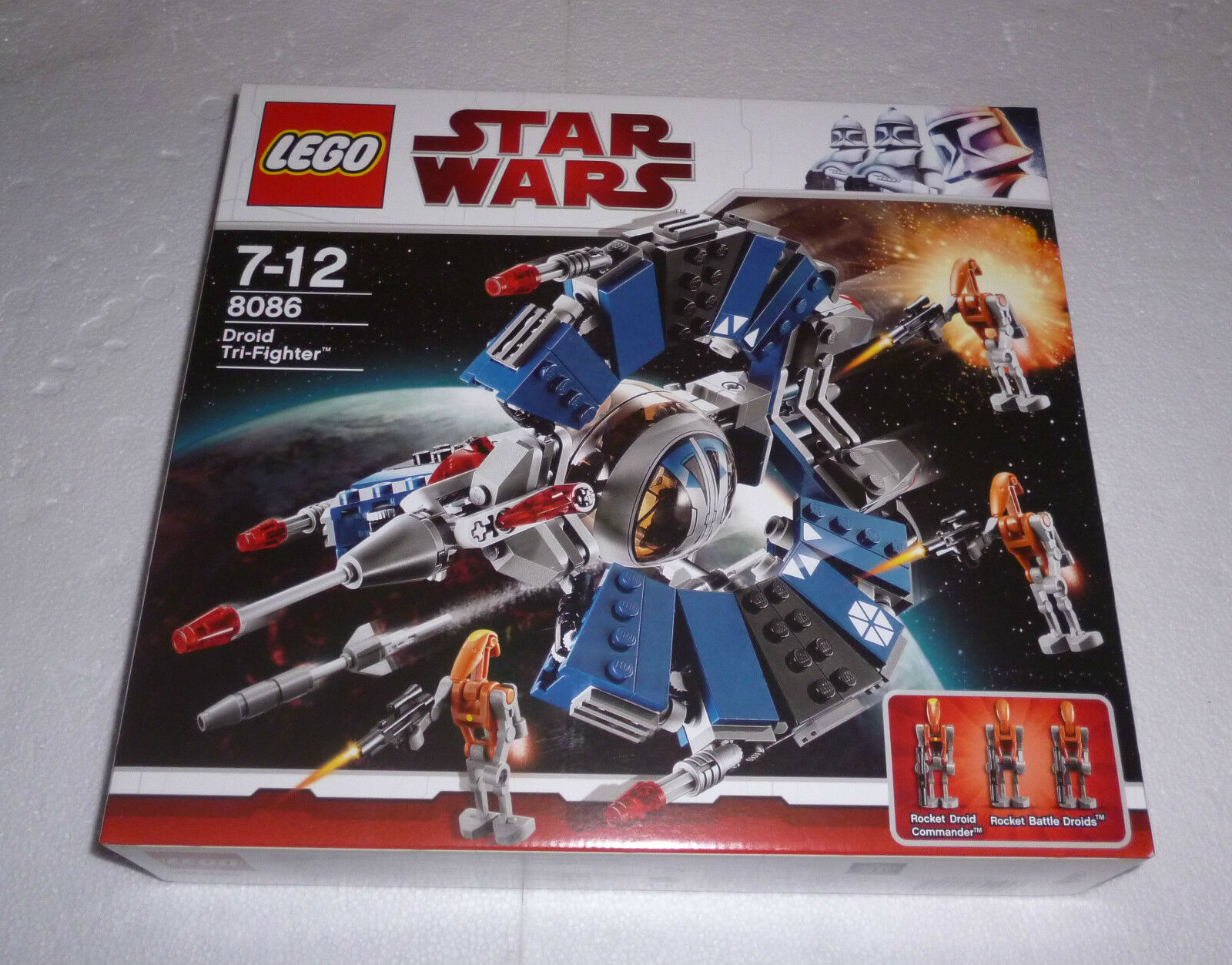 Lego Star Wars Droid Tri-Fighter (8086) Neu    New , OVP