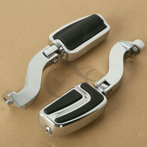 Chrome Passenger Mounts Foot Pegs Fit For Harley Electra Road Glide King 93-16