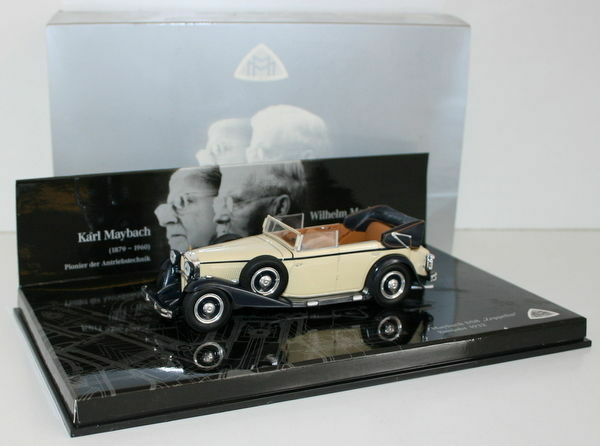 MINICHAMPS 1 43 - B66040309 MAYBACH DS8 ZEPPELIN BAUJAHR 1932 KARL WILHELM