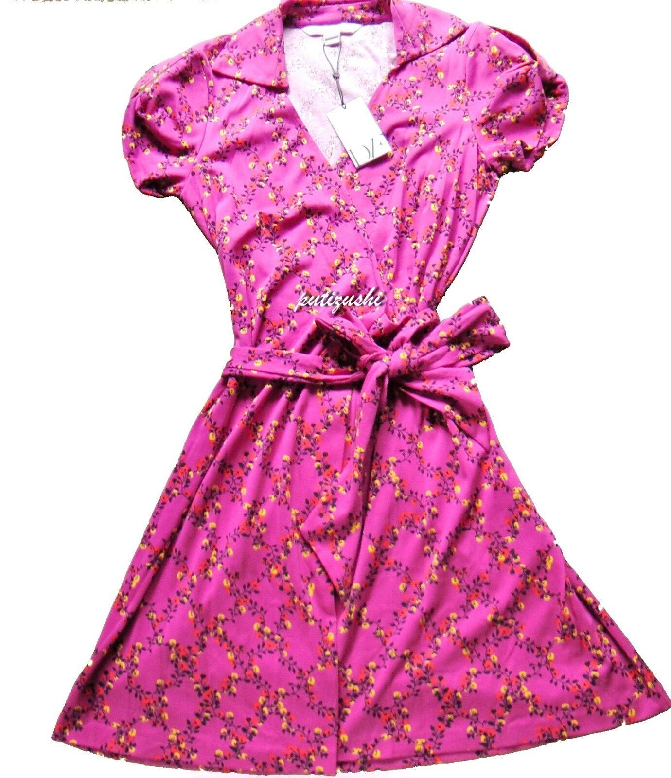 NWT Diane von Furstenberg DVF Jilda2 Jersey Wrap Dress, original