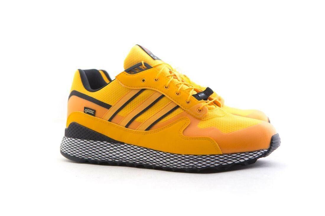 Adidas Consortium x Livestock Men Ultra Tech GTX yellow core black B37852