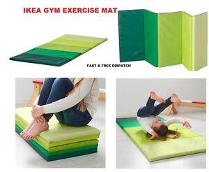 ikea plufsig fitness yoga exercice pliable tapis gymnastique - Tapis De Gym