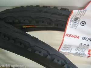 2-X-26-X-1-95-Kenda-tyres-Semi-Slick-Puncture-Resistant-Protect-K-Shield