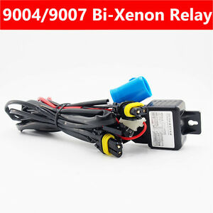 Details about 35W Relay Wiring Harness cable controller for Bi-Xenon on 9004 bulb wiring, 9003 bulb wiring, h4 to h13 wiring,
