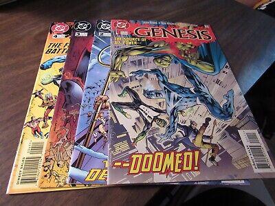 The Final Night #1 2 3 4 DC Mini Series Comic Book Set 1-4 Complete 1996