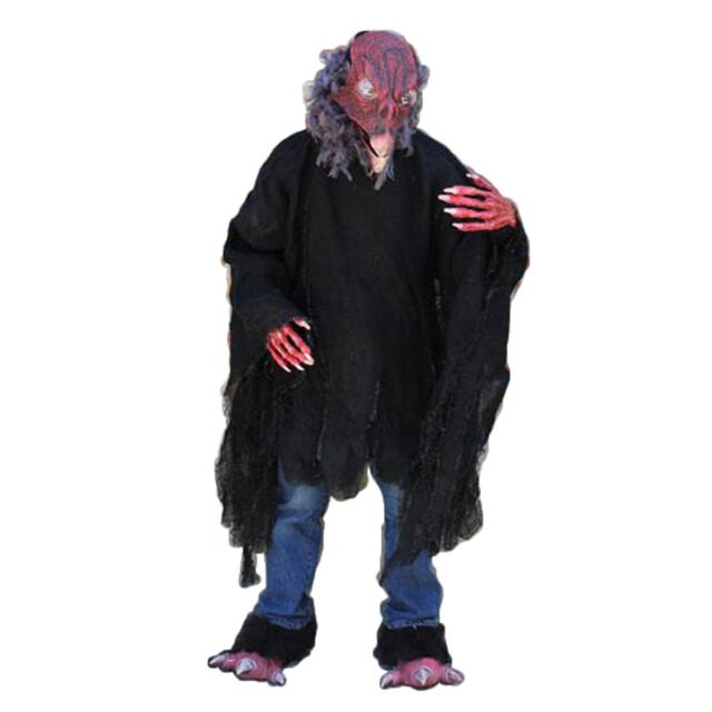 Giant Vulture Death Bird Demon Adult Halloween Costume  sc 1 st  eBay & Giant Vulture Death Bird Demon Adult Halloween Costume | eBay