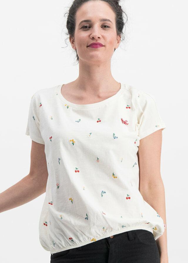 Blautsgeschwister bring me edelweiss shirt Weiß meadow 2XL
