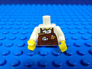 LEGO-MINIFIGURES  THE LEGO MOVIE X 1 HEAD FOR TACO TUESDAY MAN MINIFIGURE PARTS