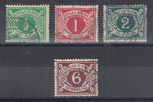 Ireland-Sc-J1-J4-used-1925-Postage-Dues-cplt-set-sound