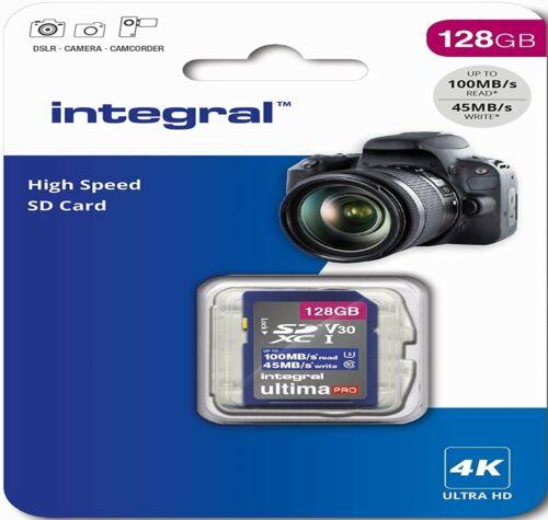4K 128GB SD Card U3 Memory For PANASONIC Lumix DC-GH5L,DC-GH5M,DC-GH5 Camera
