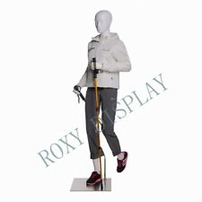 Female Sports Mannequin Elegant Moving Pose With Hiking Legs Mz Zl F03