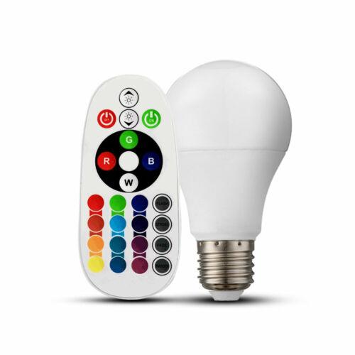 Design RGB LED Schreib Tisch Lampe Schlaf Zimmer Glas Kugel Leuchte DIMMBAR