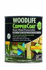 Rust-Oleum Woodlife CopperCoat Green Wood Preservative - 1904A