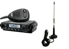 CRT Millenium V3 plus & Moonraker Micro Mobile Aerial - AM FM CB Radio UK40