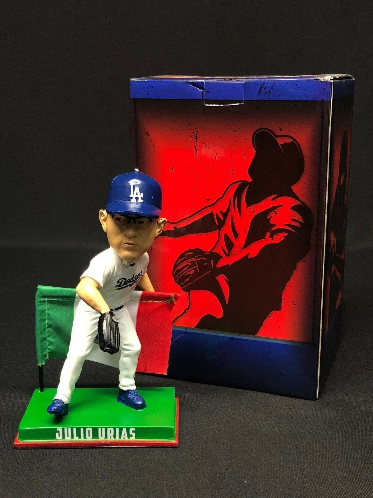 Julio Urias 2017 Forever Baseball Bobblehead MLB Licensed Limited *Viva Mexico