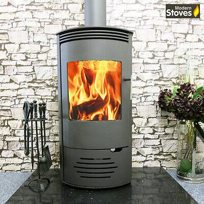 Saturn 10kw Wood Burning Multi fuel, Wood Burner Modern Stoves