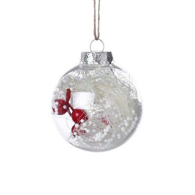 Sapin de Noël Pendentif Tenture Maison Ornement Décoration Boule Cadeau