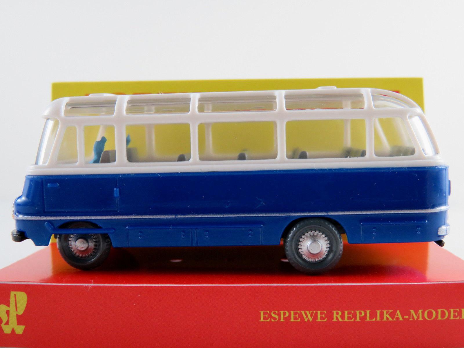 95701 Busch ESPEWE 1:87 Robur LO 2500 Bus blau