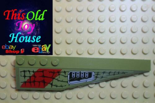 LEGO 42060 RIGHT SHELL 3X12 W//BOW//ANGLE 42060 BRICK CHOICE OF COLOR pre-owned